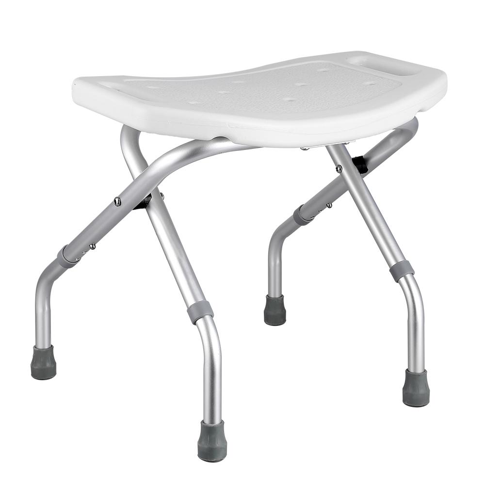 Folding Aluminium Shower Seat Bath Chair Folding Shower