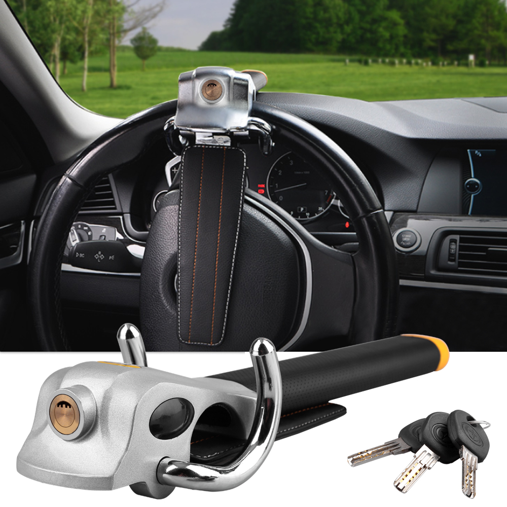 Foldable Van Car Steer Wheel Anti Theft Security Airbag Lock Safe Devices Key UK